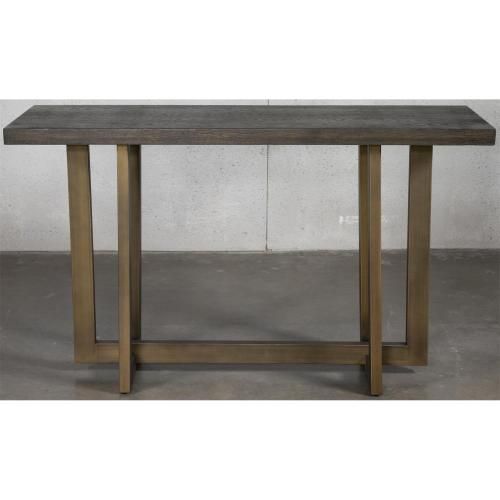 Magnus - Console Table - Umber Finish