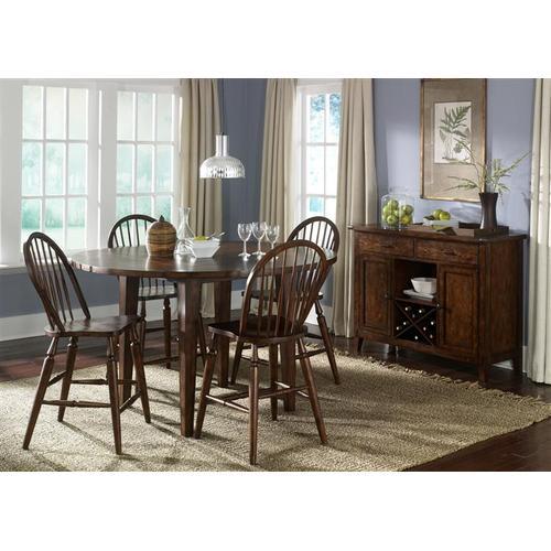 Liberty Furniture Industries - Drop Leaf Pub Table