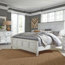 View Product - King California Panel Bed, Dresser & Mirror