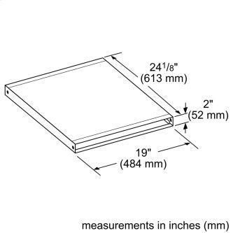 800 Series Ventilation Accessory HDD2RECTD 00777684
