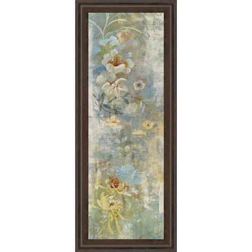 "Classy Art - ""Garden Haiku I"" By Douglas Framed Print Wall Art"