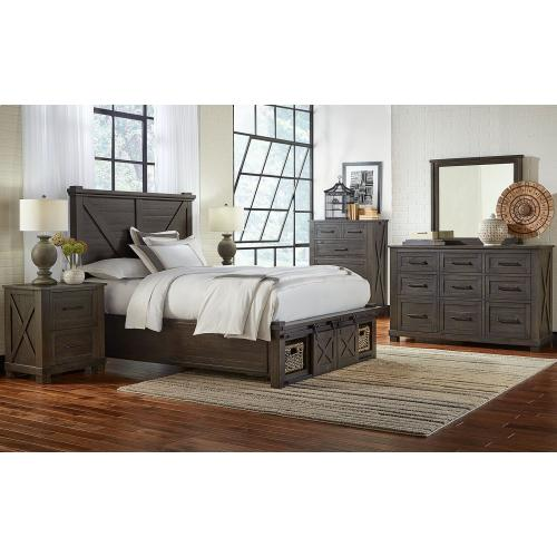 KING NON STORAGE HDBR W/ ROTATING STORAGE