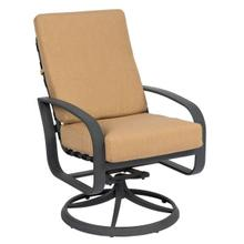 Cayman Isle Cushion Swivel Rocking Dining Armchair