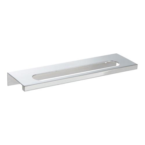 Modern Square Edge Tab Pull 5 1/16 Inch (c-c) - Polished Chrome