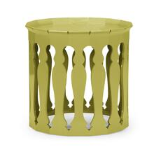 Moorish sofa tables (Split Pea)