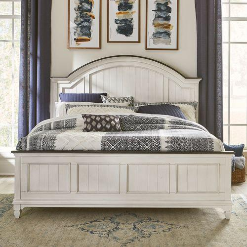 Product Image - King Arched Panel Bed