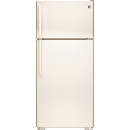 GE Appliances - GE® ENERGY STAR® 15.5 Cu. Ft. Top-Freezer Refrigerator