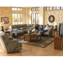 "Voyager 3PC ""Lay Flat"" Reclining Sectional"