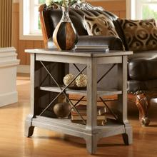 Windhaven - Chairside Table - Shenandoah Barnwood Finish