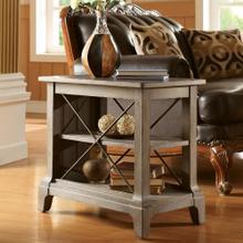 See Details - Chairside Table - Shenandoah Barnwood Finish