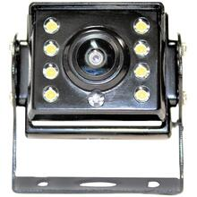 VTB202MINI Bracket-Mount Heavy-Duty 160° HD Camera with Night Vision and LED Lights