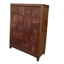 Calais Walnut Finish Solid Wood Construction Chest