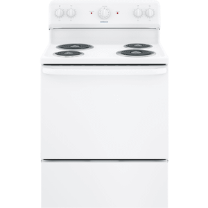 Free-standing Electric Range - White
