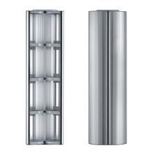 """See Details - Medicinehaus Double Door, Vertical Column, Wall Mount Storage Cabinet - 48"""""""
