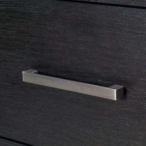 Standard Furniture - Thomas Black Dresser with Mirror, Black