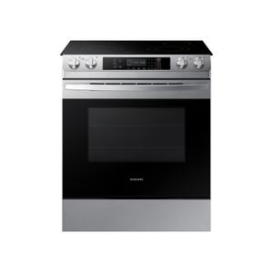 Samsung Appliances5.8 cu. ft. 4 Element Slide-in Electric Range in Stainless Steel