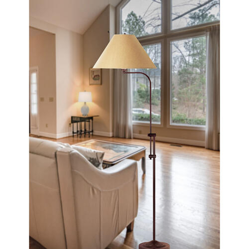 150W 3Way Floor Lamp W/Adjust Pole