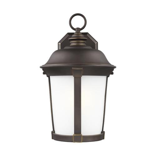 Calder Large One Light Outdoor Wall Lantern Black Bulbs Inc