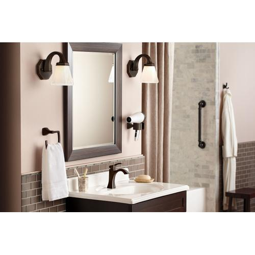 Product Image - Voss Oil rubbed bronze one-handle high arc bathroom faucet