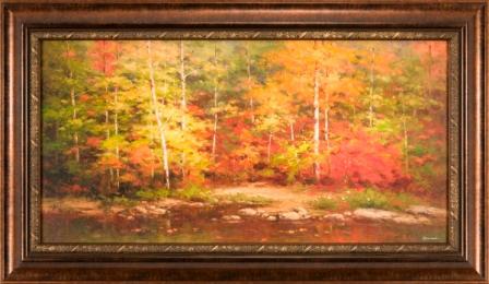 Fall Trees 24x48
