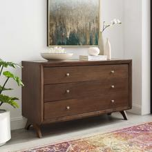 See Details - Providence Three-Drawer Dresser or Stand in Walnut