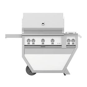 """36"""" Hestan Outdoor Deluxe Grill with Double Side Burner - G_BR__CX_ Series - Froth"""