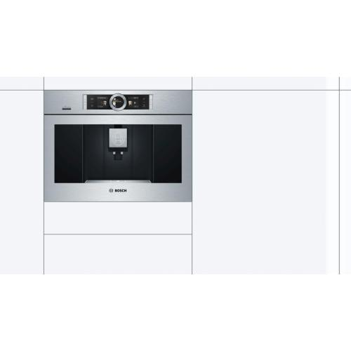 Bosch - BCM8450UC Built-in fully automatic coffee machine stainless steel