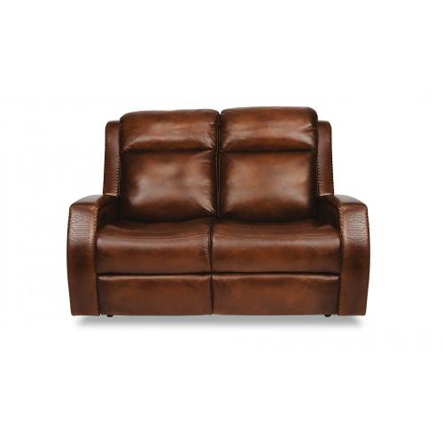 Product Image - Mustang Power Reclining Loveseat with Power Headrests
