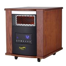 View Product - Thermal Wave by SUNHEAT Infrared Heater with Ultraviolet Air Purification - Modern Oak