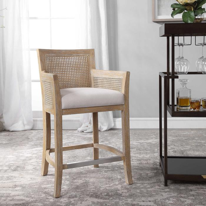 Uttermost - Encore Counter Stool, Natural