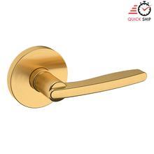 See Details - Lifetime Satin Brass 5164 Estate Lever with 5046 Rose