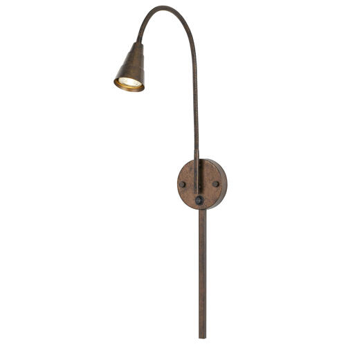 GU10 LED Wall Mount Gooseneck Lamp (3K LED Bulb included)