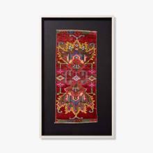 0351760021 Vintage Rug Fragment Wall Art