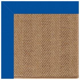 Islamorada-Herringbone Canvas Pacific Blue