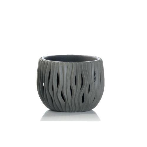 Sandy Bowl Planter- Grey XS