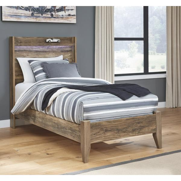 Rusthaven Twin Panel Bed