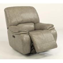 Product Image - Tobin Leather Power Gliding Recliner with Power Headrest