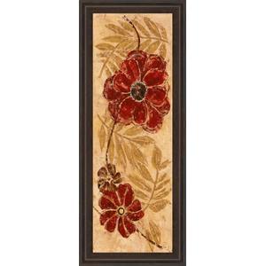 "Classy Art - ""Touch Of Honey I"" By Maria Donovan Framed Print Wall Art"