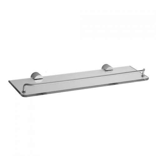 Satin Copper - Contempo II Glass Shelf with Wire Rail