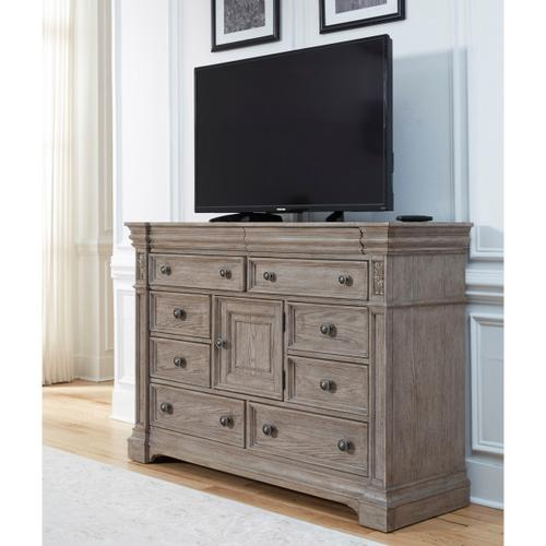 Kingsbury 10 Drawer Media Bureau