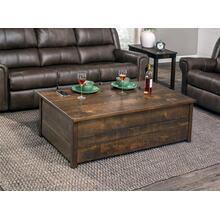 "Greenville Incognito Coffee Table, 54""x30"", Rough Sawn Std."