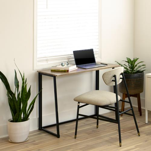 """Flash Furniture - Small Rustic Natural Home Office Folding Computer Desk - 36"""""""