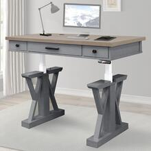 AMERICANA MODERN - DOVE 56 in. Lift Desk Top & Base Cover