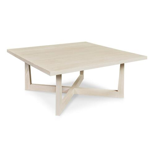 Bassett Furniture - Liam Oak Square Cocktail Table