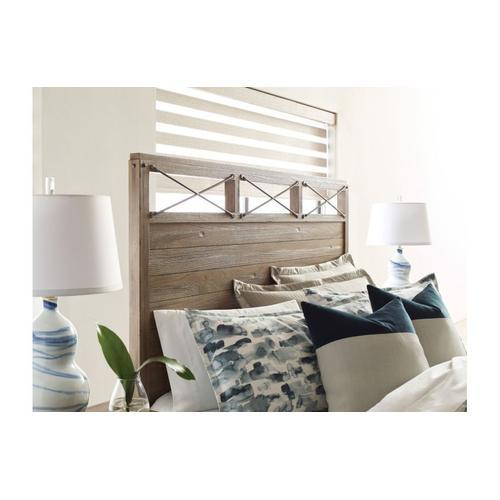 Jackson Panel Queen Bed - Complete