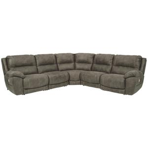 Cranedall 5-piece Power Reclining Sectional