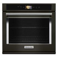 """Smart Oven+ 30"""" Single Oven with Powered Attachments and PrintShield™ Finish - Black Stainless Steel with PrintShield™ Finish"""