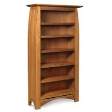 See Details - Aspen Tall Open Bookcase with Inlay, 5 Shelves