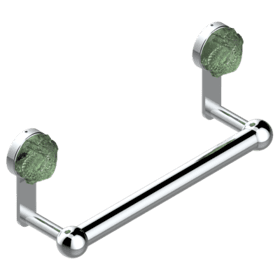 "Towel bar, 1""dia, 11 3/4"" long"