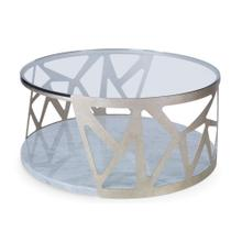 See Details - Pierced Cocktail Table